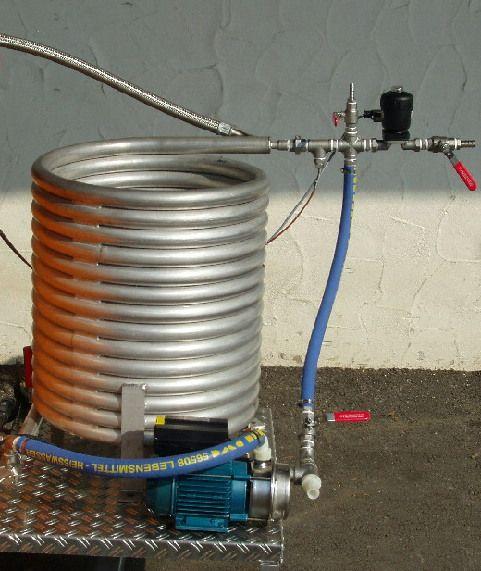 Pasteurizare cu schimbator tub in tub