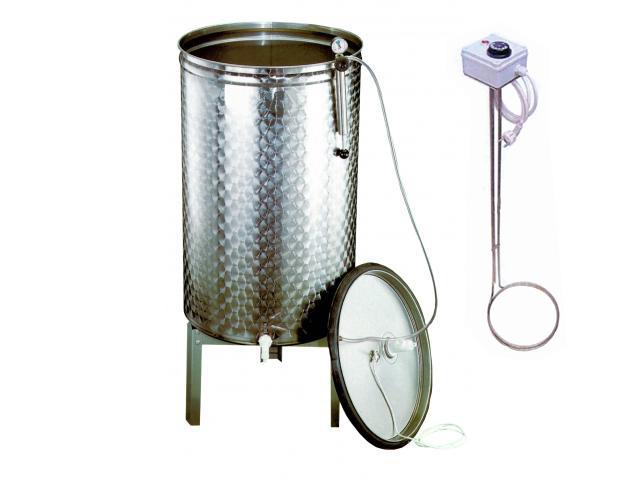 Pasteurizator simplu cu rezistenta
